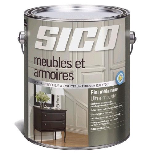 Sico peinture d 39 int rieur pour meubles et armoires - Peinture pour meuble stratifie ...