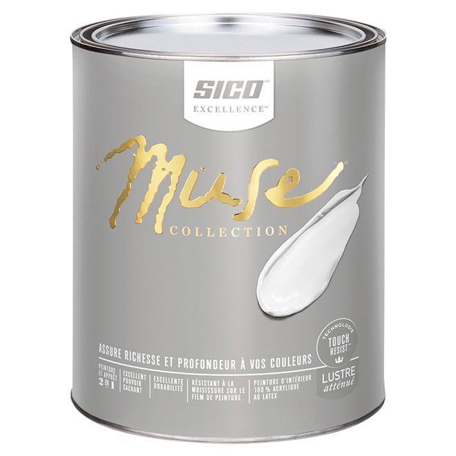 Sico muse peinture et appr t d 39 int rieur au latex r no - Peinture d appret ...