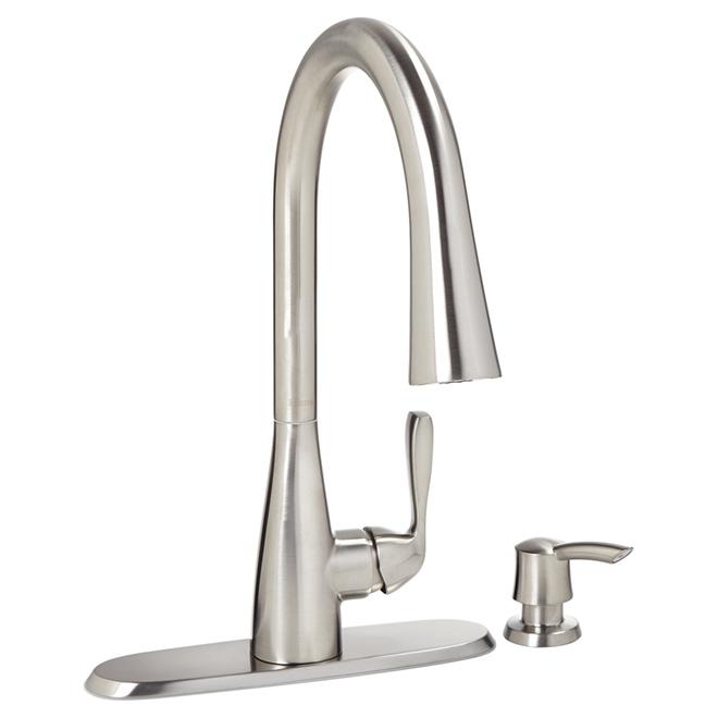 Pfister robinet de cuisine r tractable lima 2 jets - Liquidation robinet cuisine ...