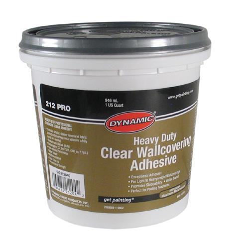 Superior Adhesive   Clear Wallpaper Adhesive