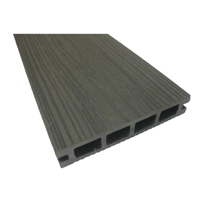 elegance planche en composite pour terrasse 12 39 gris r no d p t. Black Bedroom Furniture Sets. Home Design Ideas