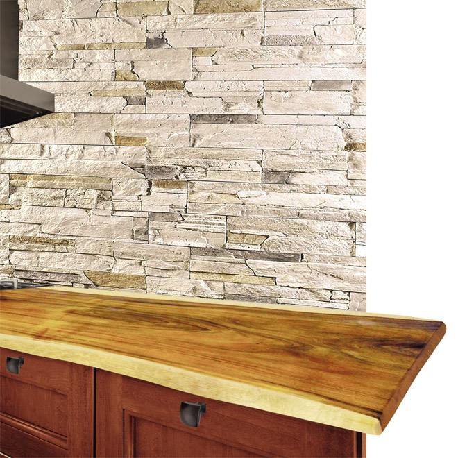 Comptoir pour cuisine ou salle de bain 78 po r no d p t for Dessus de comptoir salle de bain