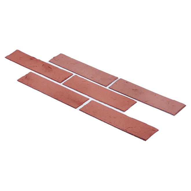Decorative Wall Stones - Brick Red