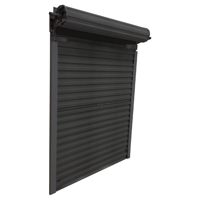 Leadvision porte de cabanon r tractable en acier 5 39 x 6 for Porte de cabanon en acier