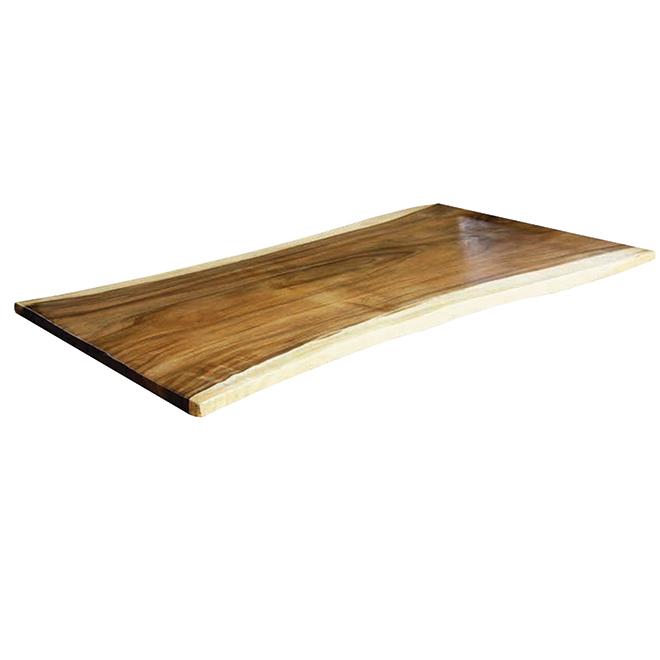 Leadvision dessus de table ou d 39 lot bois d 39 acacia 70 - Dessus de table en bois ...