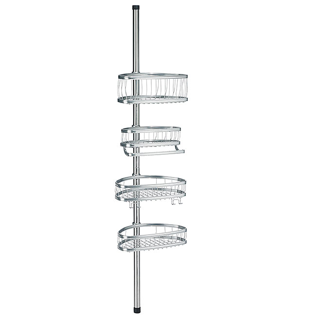 "Tension Shower Caddy - ""York"""
