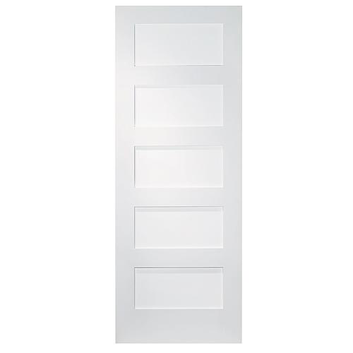 Metrie shaker 5 panel interior door r no d p t - Interior shaker doors panel ...