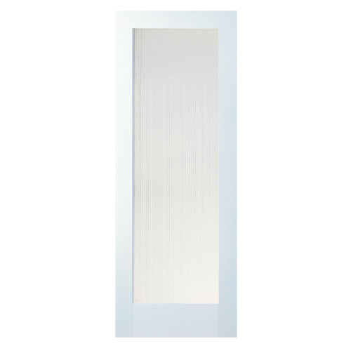 "1-Panel MDF French Door - 32"" x 80"""