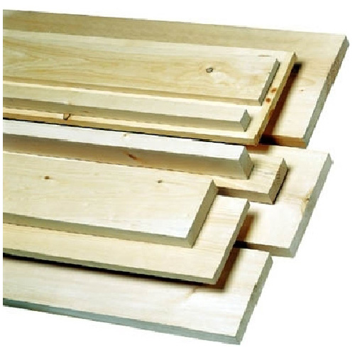 White pine lumber 1 in x 2 in x 10 ft