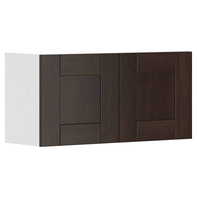 "Wall Kitchen Cabinet with 2 Doors - Caravelle - 30"" x 15"""