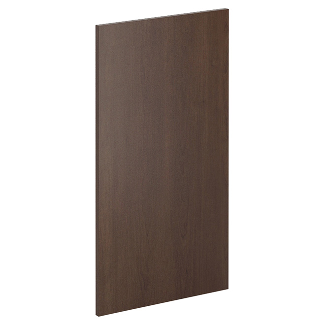 "Wall Cabinet Panel - Caravelle - 13"" x 33""  - Chocolate"