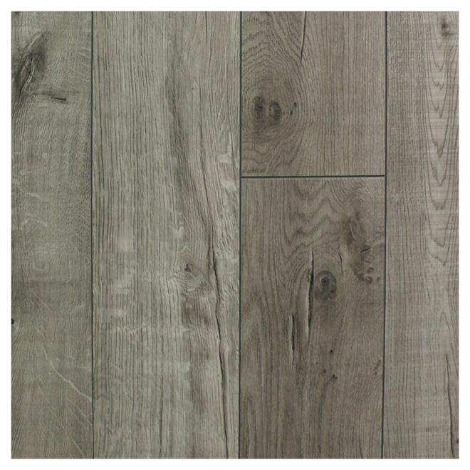 plancher en vinyle graphite 7 mm 21 25 pi bo te de 12 r no d p t. Black Bedroom Furniture Sets. Home Design Ideas