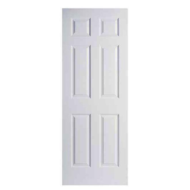 Metrie 6 Panel Textured Slab Door R 233 No D 233 P 244 T