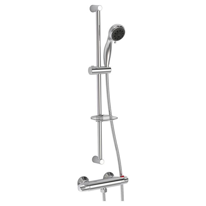 Jalo colonne de douche avec douchette r no d p t for Installer colonne de douche