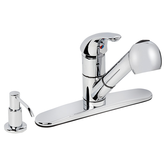 Pull-Out Kitchen Faucet - 1 Handle