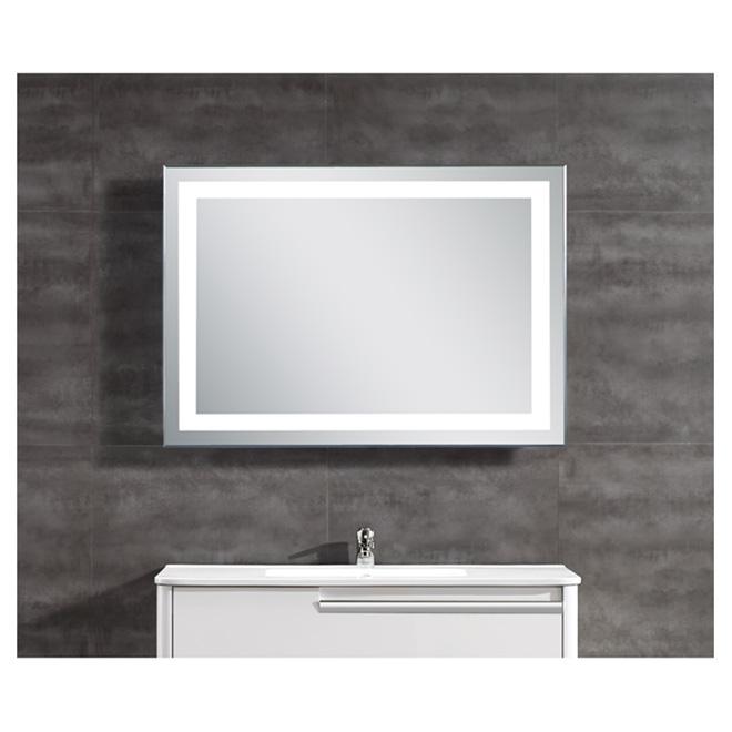 Ove miroir clairage del int gr r no d p t - Reno salle de bain quebec ...
