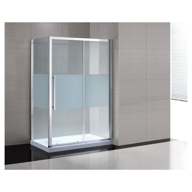 Ove decors porte de douche coulissante melba 60 clair for Porte de douche 60