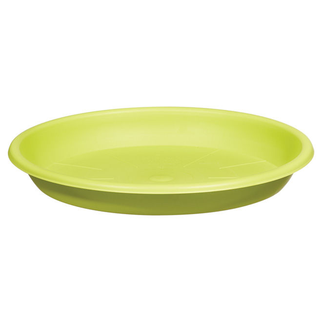 "Planter Saucer - ""Cilindro"" - 10.2"" - Green"