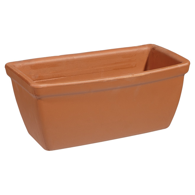 Clay Planter - Roma Liscia - 32 cm - Terracotta