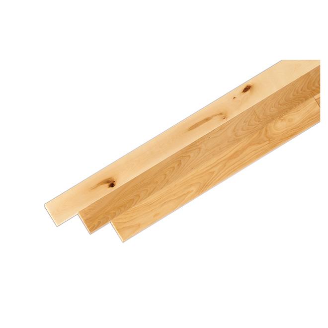 Merisier Bois In English : Plancher de bois franc en merisier, 3 1/4″ x 3/4″, naturel R?no