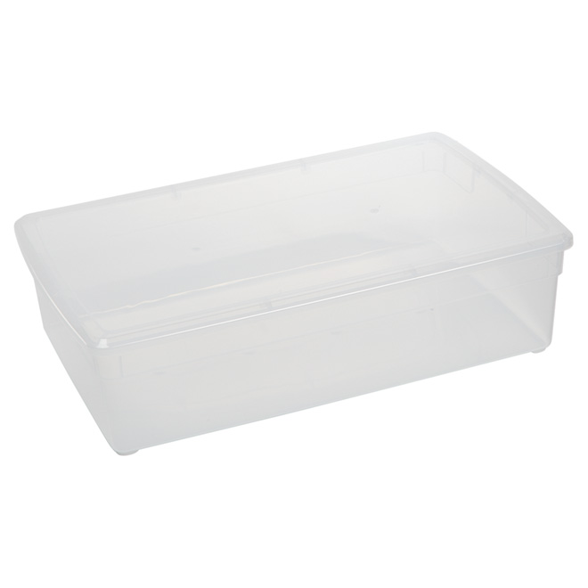 Under Bed Storage Tote - 37L - Clear