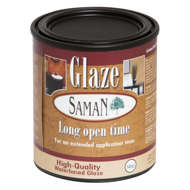 Clear Water-Based Glaze - 946 mL