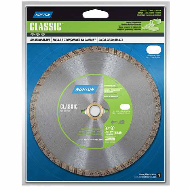"""Classic"" Turbo Diamond Blade - 4"""
