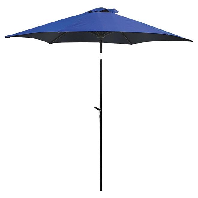 uberhaus parasol de march pour patio 8 8 pi bleu royal r no d p t. Black Bedroom Furniture Sets. Home Design Ideas