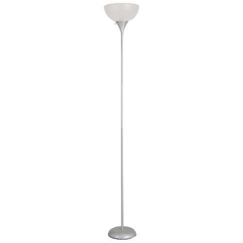 "Torchiere Lamp 71,65"" - Silver"