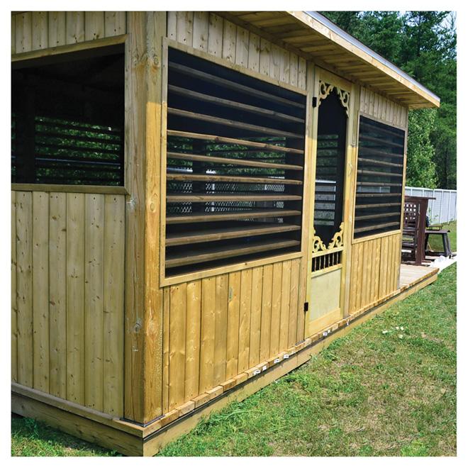 syst me de store pour patio r no d p t. Black Bedroom Furniture Sets. Home Design Ideas