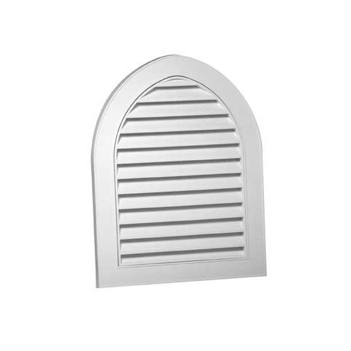 "Cathedral Gable Vent 22"" x 28"" - White"
