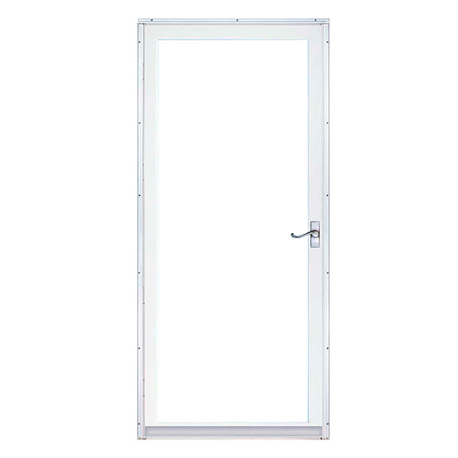"Regal Deluxe Full View Storm Door 36"" - White"
