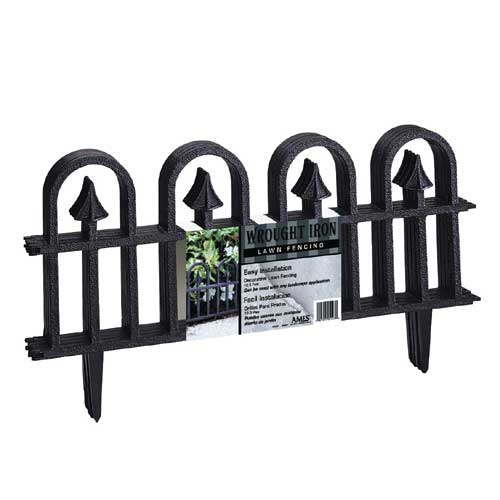 "Fence - ""Wrought Iron"" Decorative Fence"